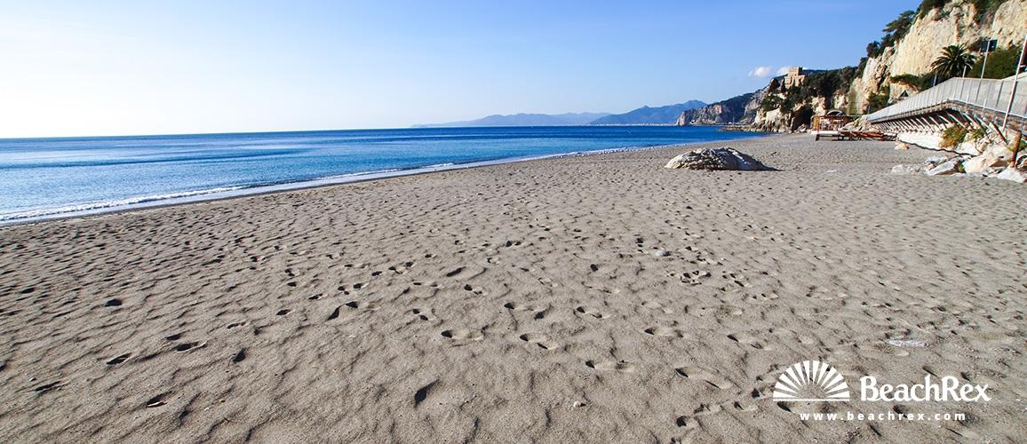 Italy - Liguria -  Finale Ligure - Beach San Donato