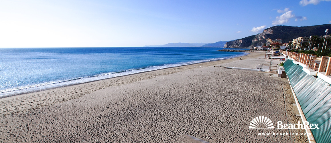 Italy - Liguria -  Finale Ligure - Beach Finale Marina