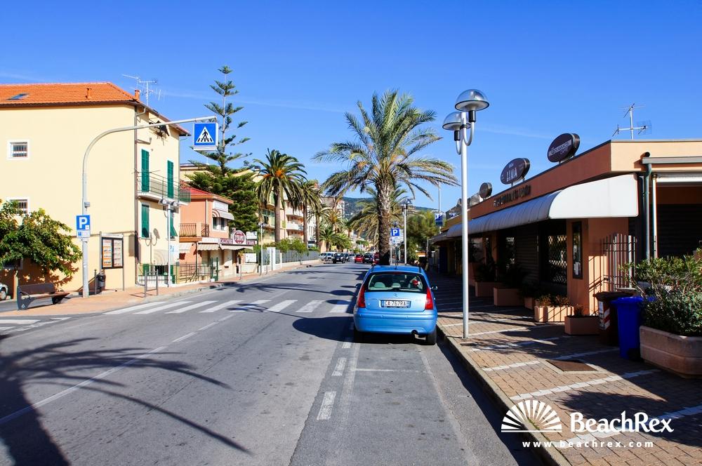 Italy - Liguria -  Pietra Ligure - Beach Don Giovanni