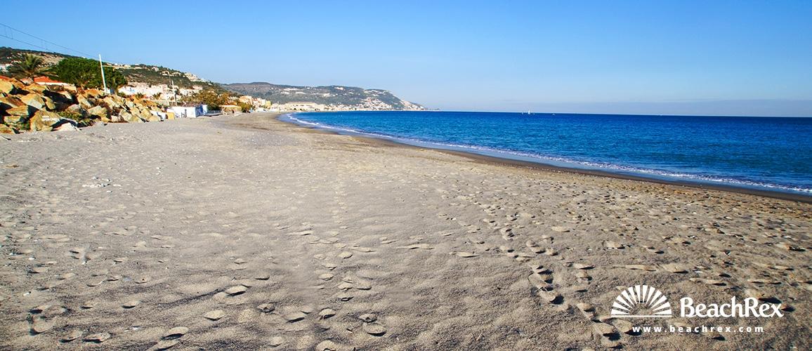 Italy - Liguria -  Pietra Ligure - Beach Pietra