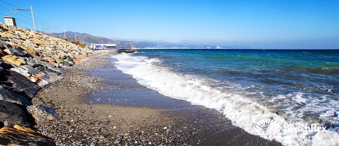 Italy - Liguria -  Albenga - Beach Lo Scoglio