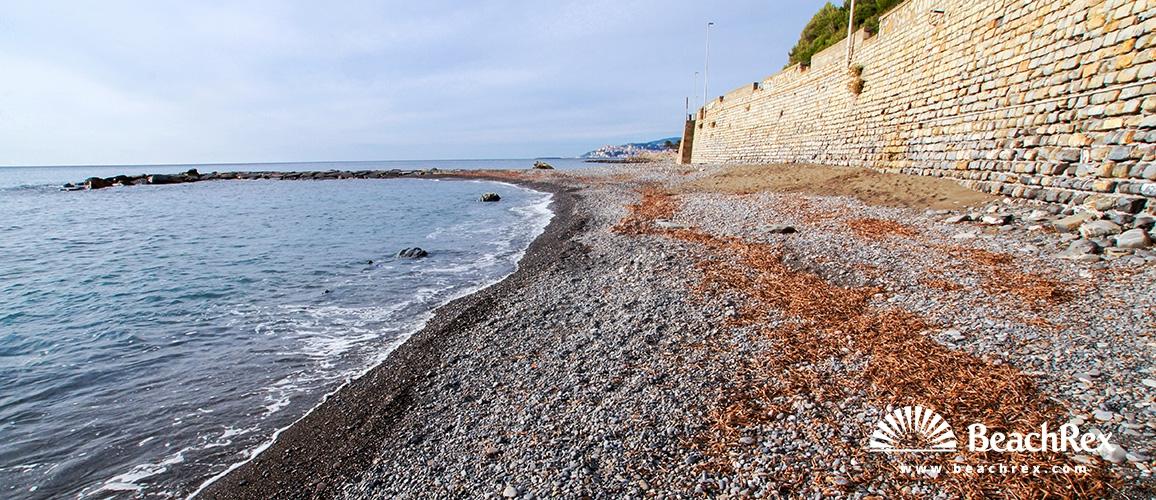 Italy - Liguria -  Imperia - Beach Galeazza