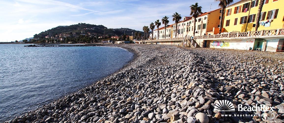 Italy - Liguria -  Imperia - Beach Lamboglia