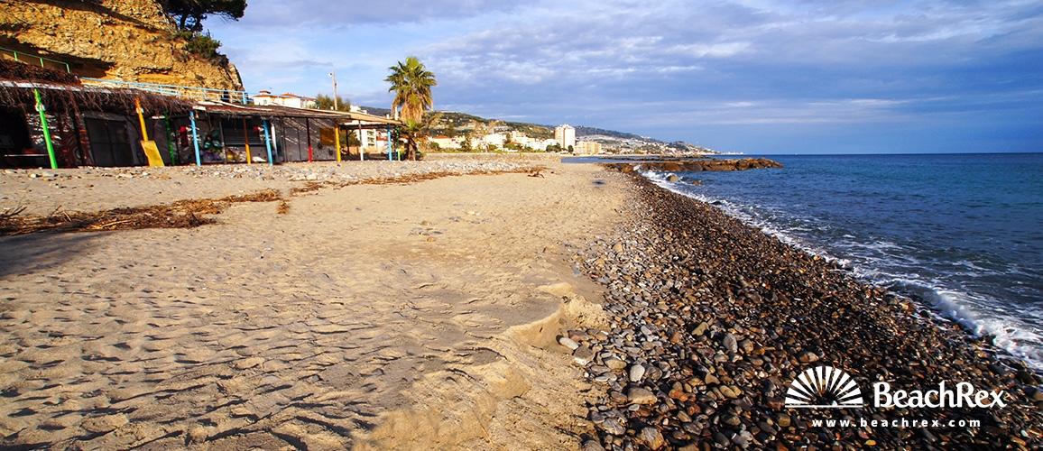 Italija - Liguria -  Bussana - Plaža Bussana