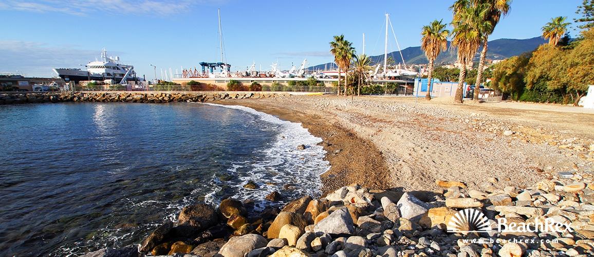 Italy - Liguria -  Sanremo - Beach San Martino