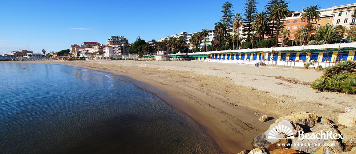 Italy - Liguria -  Sanremo - Beach Portosole