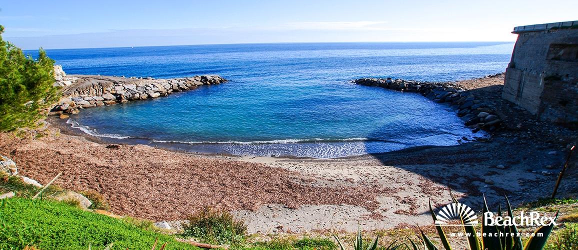 Italy - Liguria -  Sanremo - Beach Fiori