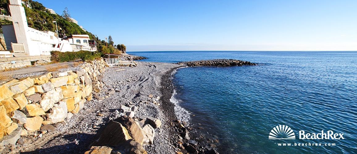 Italy - Liguria -  Ospedaletti - Beach Sada
