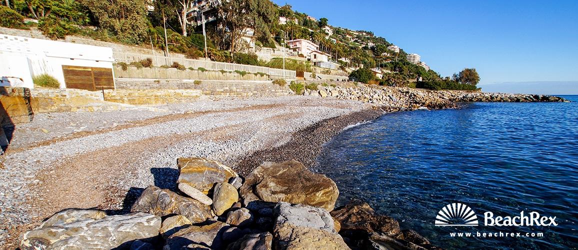 Italy - Liguria -  Ospedaletti - Beach Alfonso