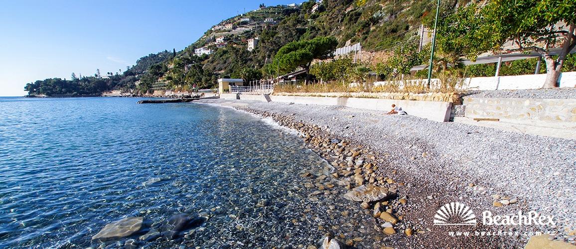 Italy - Liguria -  Ospedaletti - Beach Termini