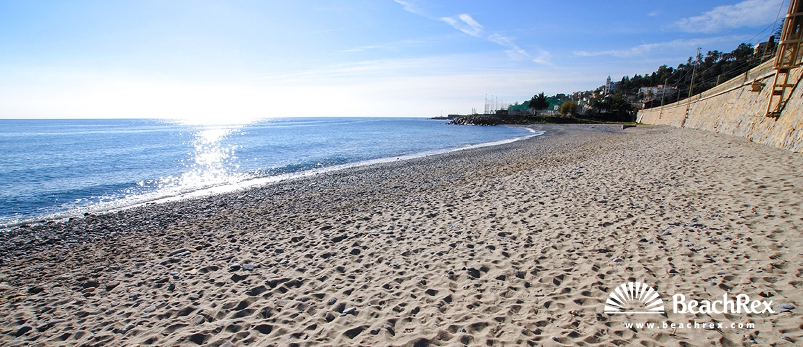 Italy - Liguria -  Bordighera - Beach Lunassa