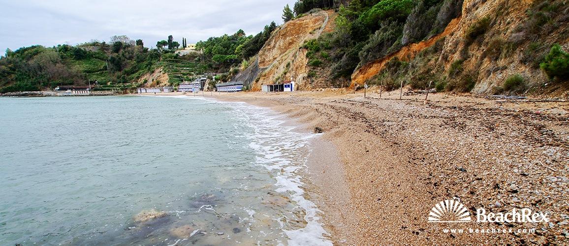 Italy - Liguria -  Lerici - Beach Baia Blu