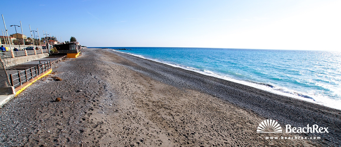 Italy - Liguria -  Bordighera - Beach Argentina