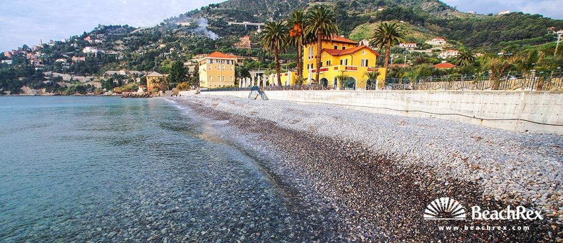 Italy - Liguria -  Latte - Beach Ricovero