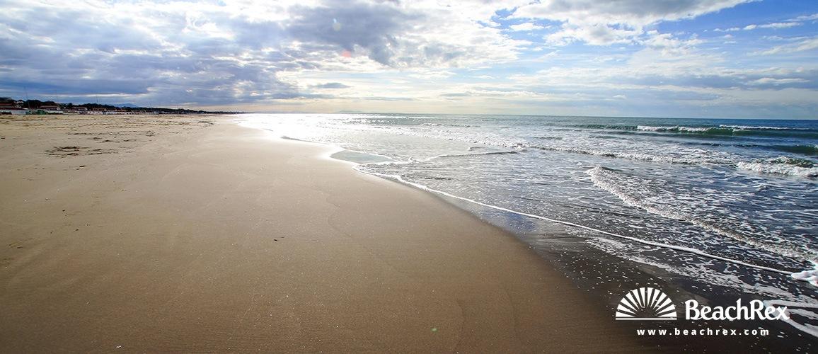Italy Toscana Forte Dei Marmi Beach