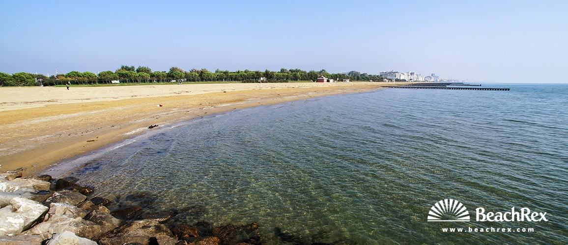 Italy - Veneto -  Lido di Jesolo - Beach Lido Faro