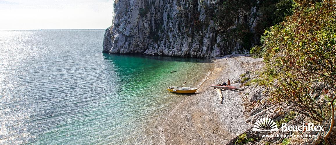Italy - FriuliVenezia Giulia -  Duino - Beach Principe