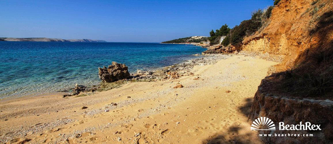 Croatia - Lika - Island Pag -  Stara Novalja - Beach Uljak