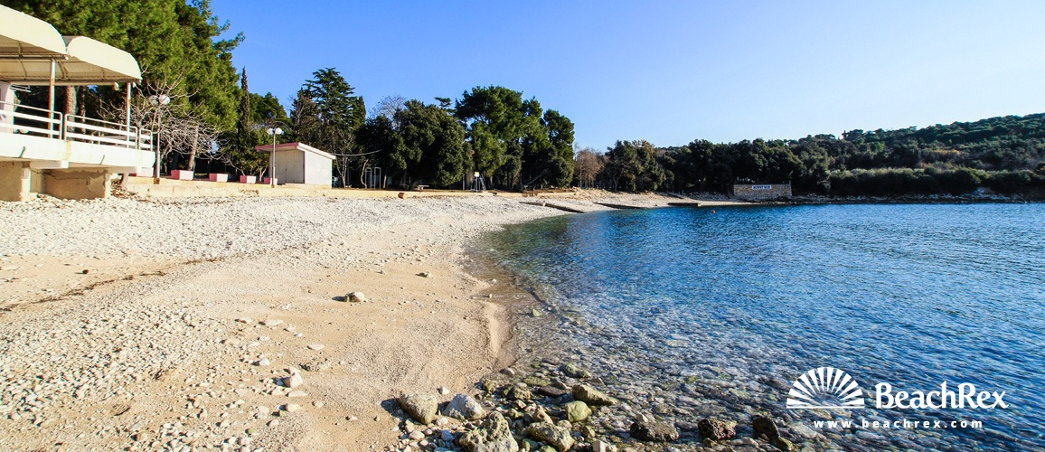 Croatia - Istra -  Pula - Beach Cintinera
