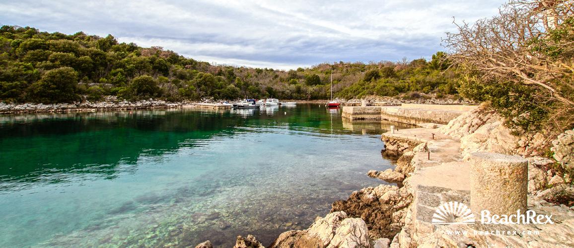 Croatia - Kvarner - Island Krk -  Pinezići - Beach Torkul