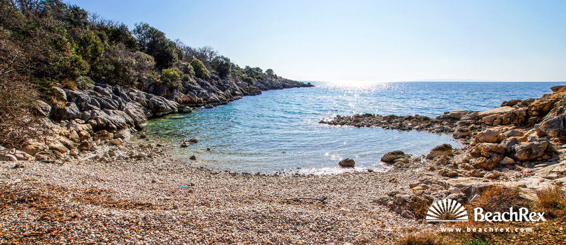 Kroatien - Lika - Insel Pag -  Novalja - Strand Palamida