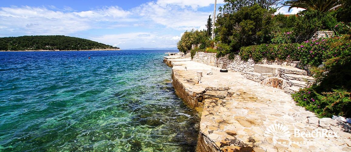 Croatia - Dalmatia  Split - Island Šolta -  Nečujam - Beach Sabina