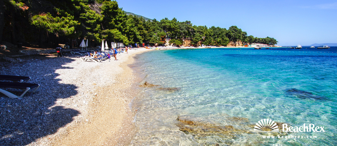 Croatia Dalmatia Split Island Brač Bol Beach Potočine