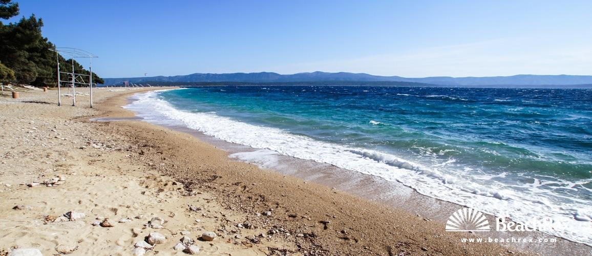 Croatia - Dalmatia  Split - Island Brač -  Bol - Beach Zlatni Rat