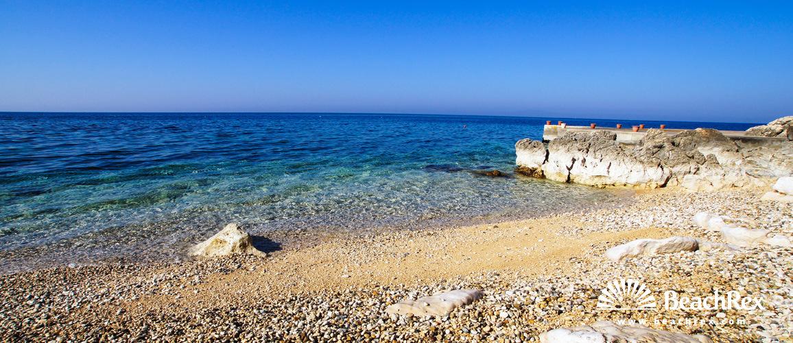 Croatia - Lika - Island Pag -  Jakišnica - Beach Luna