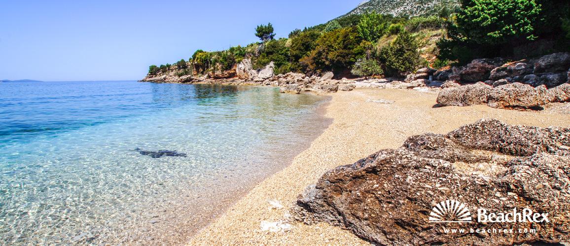 Croatia - Dalmatia  Split - Island Brač -  Bol - Beach Mia