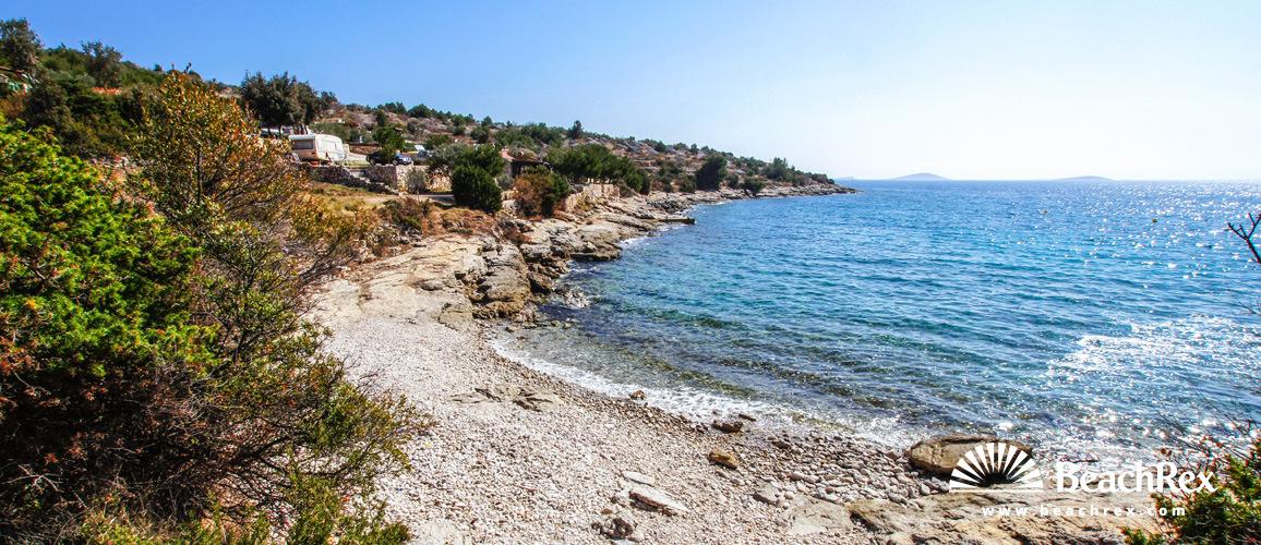 Croatia - Dalmatia  Šibenik - Island Murter -  Jezera - Beach Jasenovac