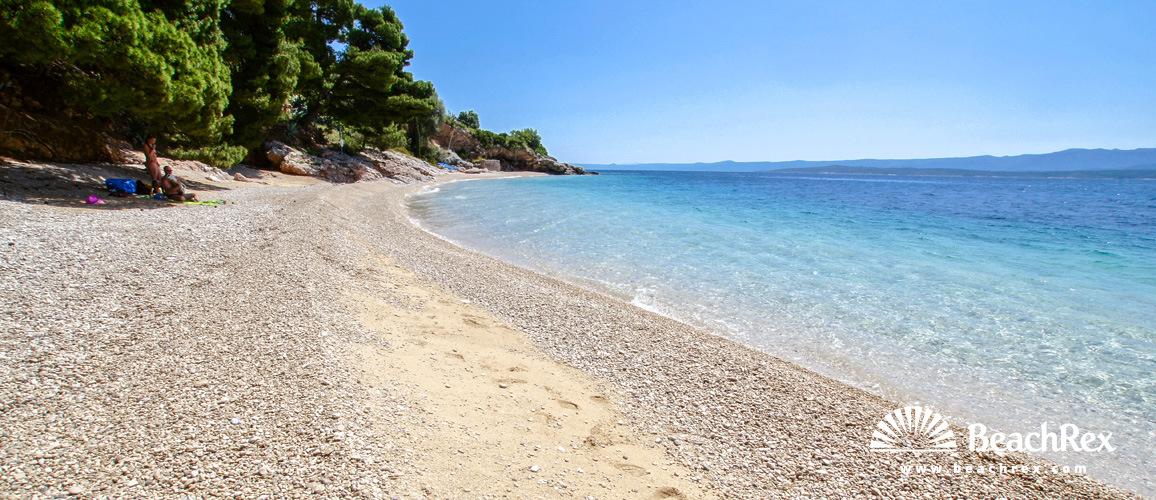 Croatia - Dalmatia  Split - Island Brač -  Murvica - Beach Murvica