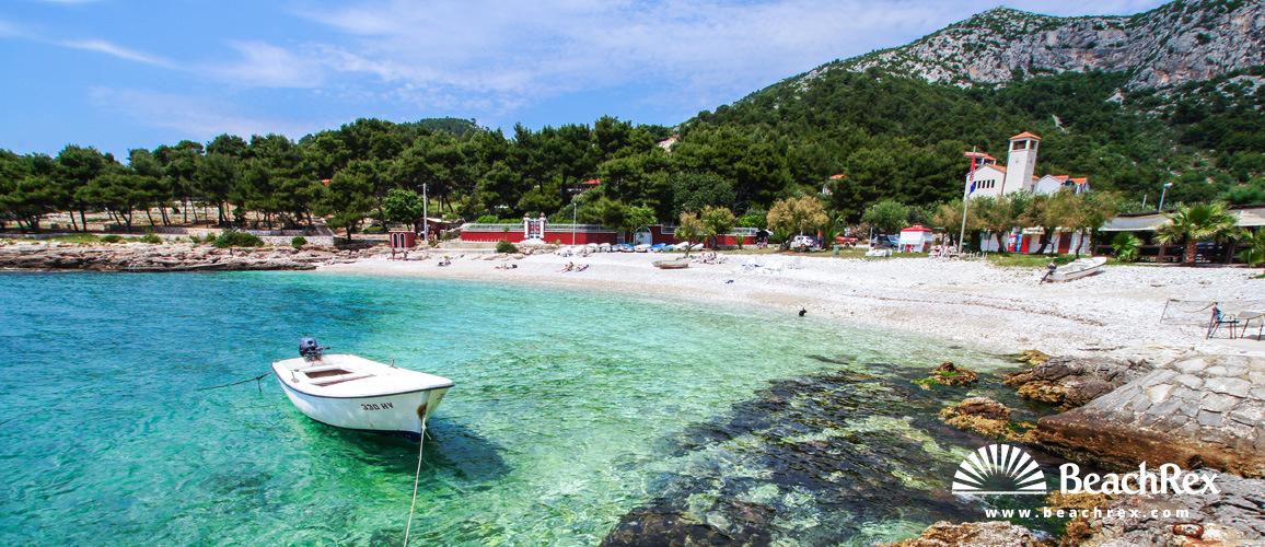 Croatia - Dalmatia  Split - Island Hvar -  Milna - Beach Milna