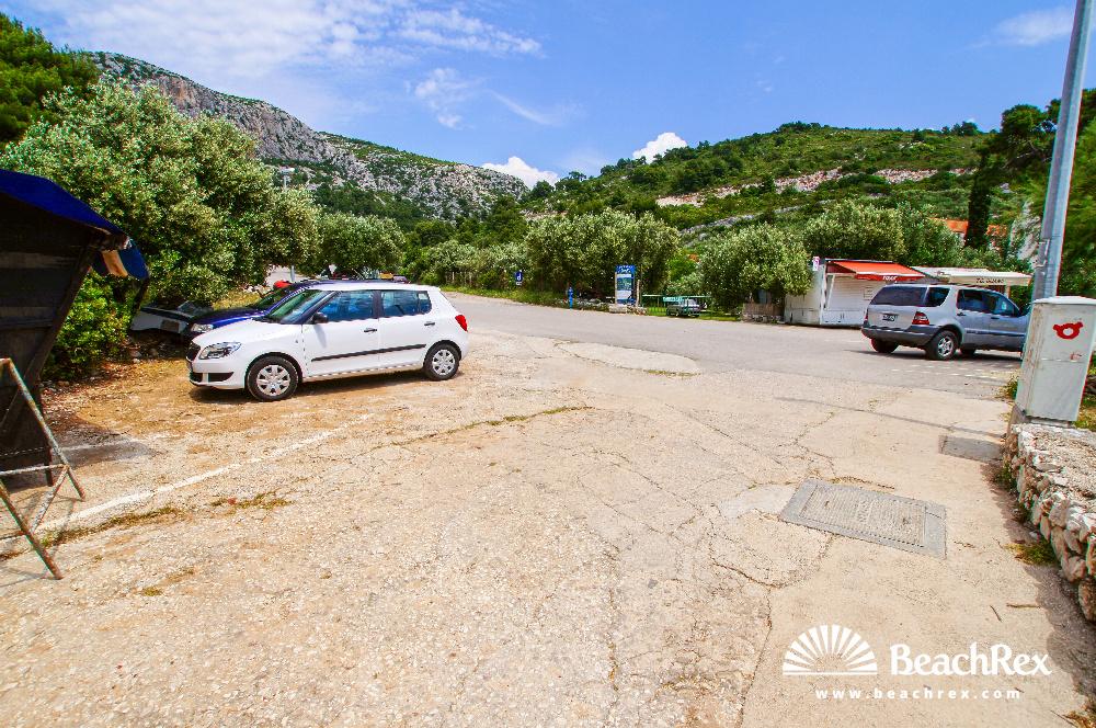 Croatia - Dalmatia  Split - Island Hvar -  Milna - Beach Velo Borče