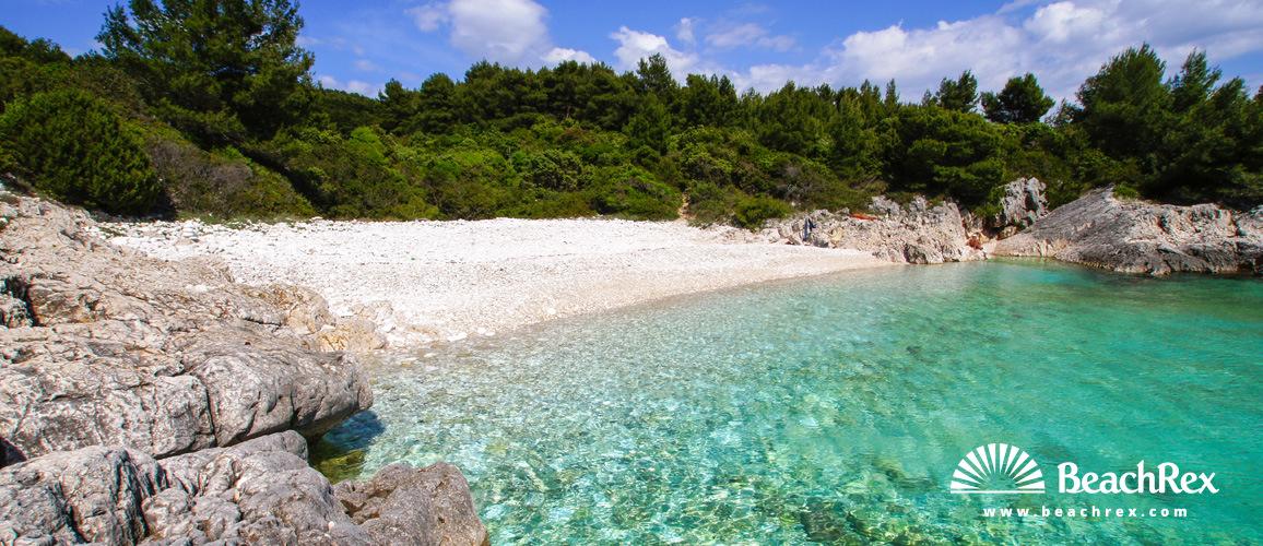 Croatia - Dalmatia  Split - Island Hvar -  Hvar - Beach Mekićevica
