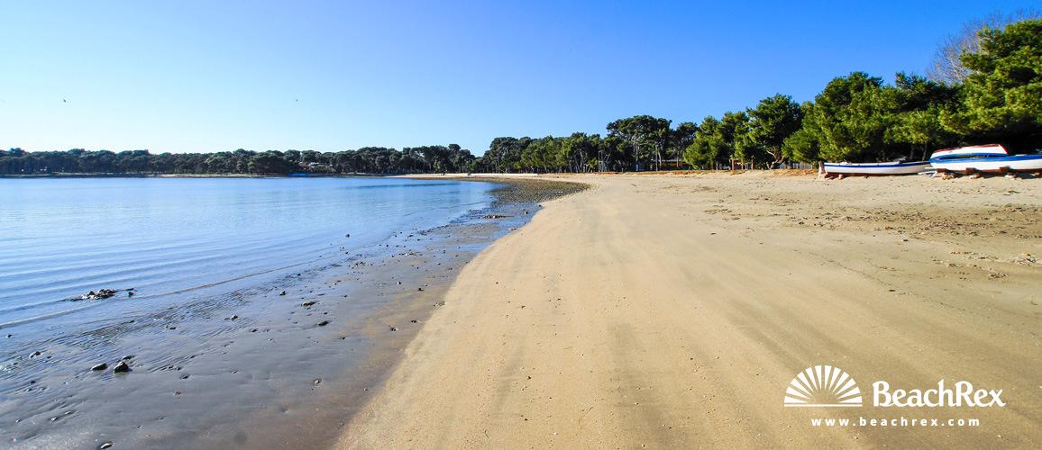 Croatia - Istra -  Medulin - Beach Bijeca