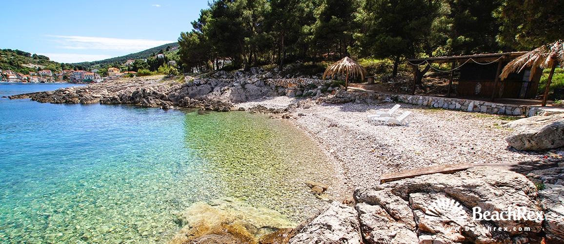 Croatia - Dalmatia  Split - Island Šolta -  Stomorska - Beach Veli Dolac