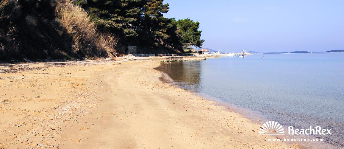 Croatia - Dalmatia  Zadar - Island Pašman -  Tkon - Beach Tkon