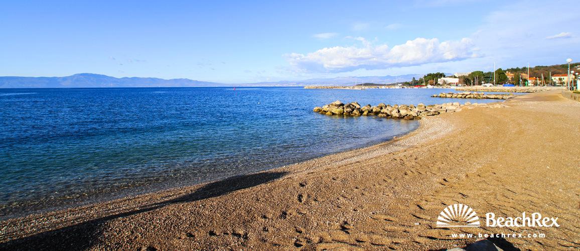 Croatia - Kvarner - Island Krk -  Malinska - Beach Rupa