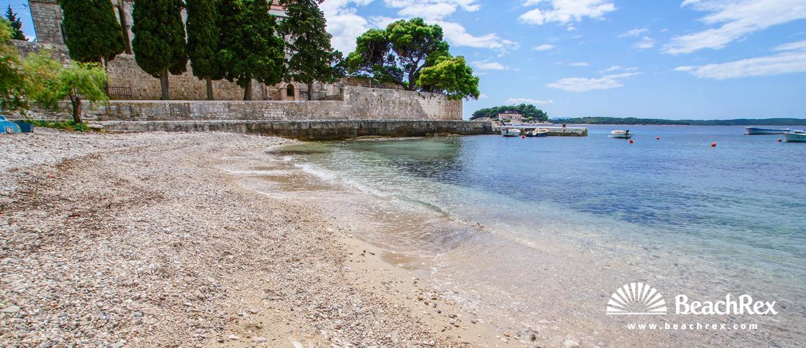 Croatia - Dalmatia  Split - Island Hvar -  Hvar - Beach Lučica