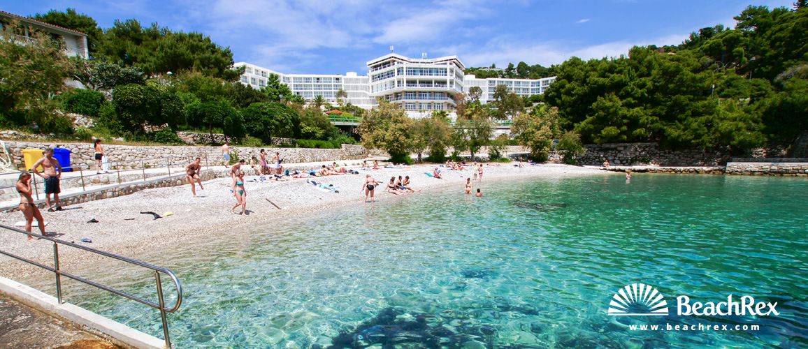 Croatia - Dalmatia  Split - Island Hvar -  Hvar - Beach Bonj
