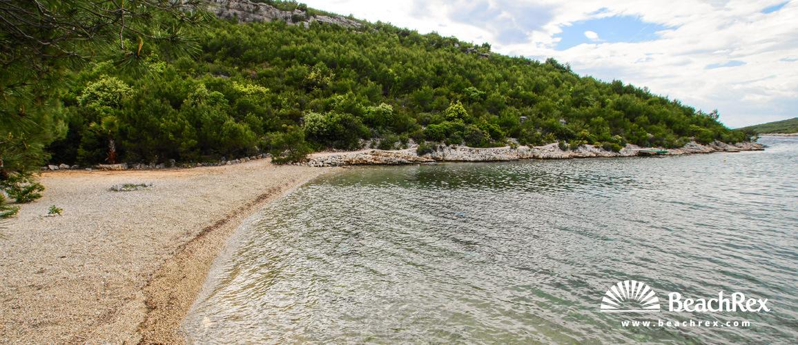 Croatia - Dalmatia  Split - Island Hvar -  Hvar - Beach Dijana