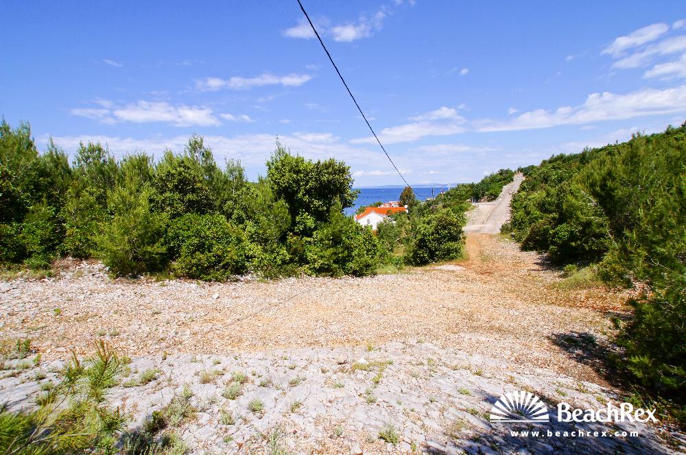 Croatia - Dalmatia  Split - Island Hvar -  Hvar - Beach Jagoda