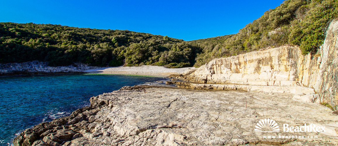 Croatia - Istra -  Kavran - Beach Uvala Kavran