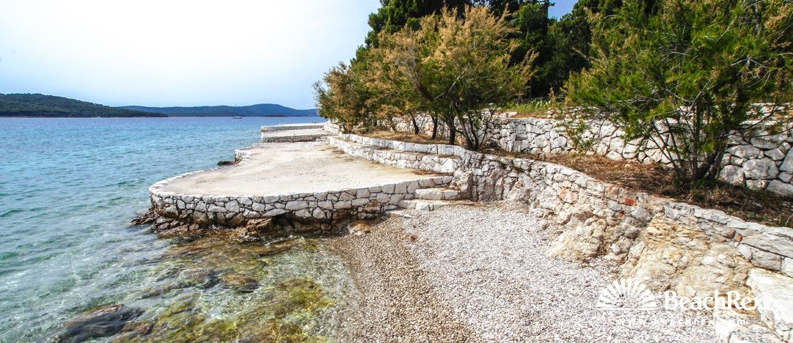 Croatia - Dalmatia  Split - Island Brač -  Milna - Beach Rt Bijaka
