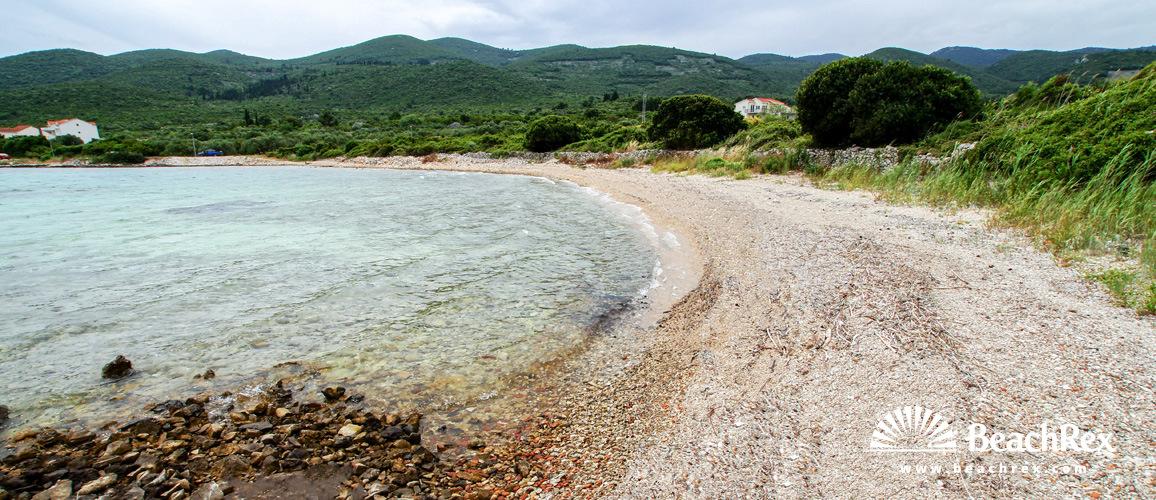 Croatia - Dalmatia  Dubrovnik - Island Korčula -  Račišće - Beach Kneža