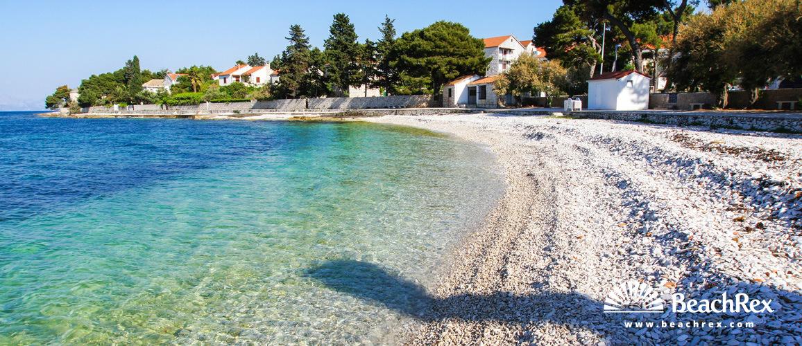Croatia - Dalmatia  Split - Island Brač -  Sutivan - Beach Bunta