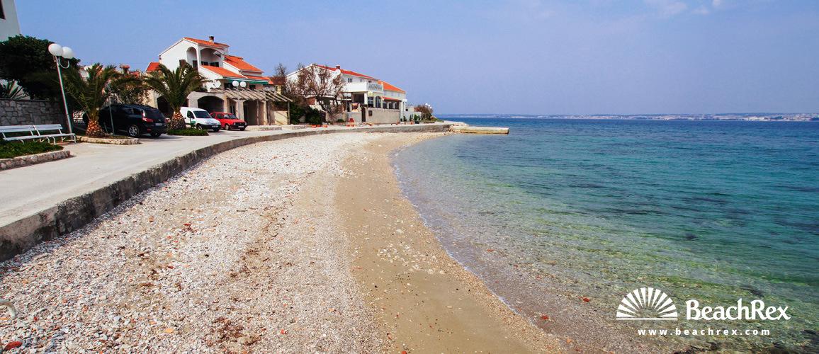 Hrvatska - Dalmacija  Zadar - Otok Ugljan -  Preko - Plaža Bilišće
