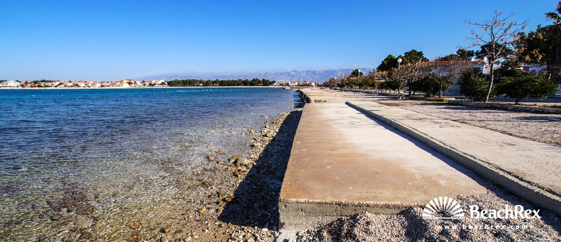 Hrvaška - Dalmacija  Zadar - Otok Vir -  Vir - Plaža Prezida