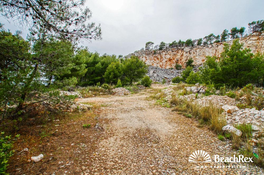 Croatia - Dalmatia  Split - Island Brač -  Sutivan - Beach Vedrana